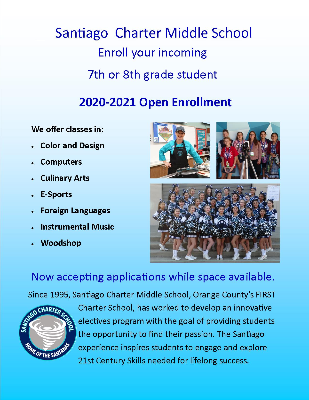 2020-2021 Open Enrollment